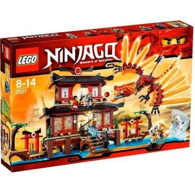 Ninjago Templo de Fogo. (Foto: Divulgação)