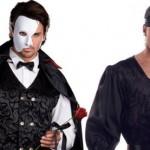 O Fantasma da Ópera e um pirata (Foto: Divulgação)