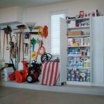 O ponto forte de uma garagem decorada é a organização.