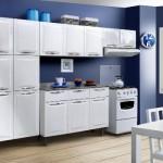 Cozinha branca aconchegante como decorar, fotos 3