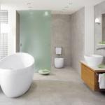 Escolha pisos de cerâmica ou porcelanato que sejam resistentes e práticos.
