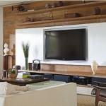 A sala de TV é um ambiente perfeito para reunir amigos e familiares.