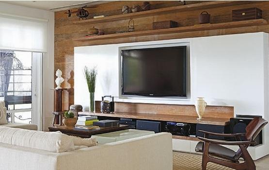 Sala De Tv Aconchegante ~ Decoração De Sala De TV, Fotos, Ideias  MundodasTribos – Todas as