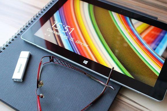 Os tablets servem tanto para trabalhar quanto para divertir (Foto Ilustrativa)