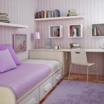 Um quarto feminino perfeito para adolescente.