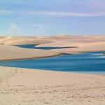 Águas azuis dos Lençóis (Foto:Divulgação)