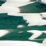 Águas verdes dos Lençóis (Foto:Divulgação)