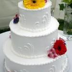 Bolo de casamento com pasta americana (Foto:Divulgação)