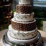 Bolo de casamento decorado (Foto:Divulgação)