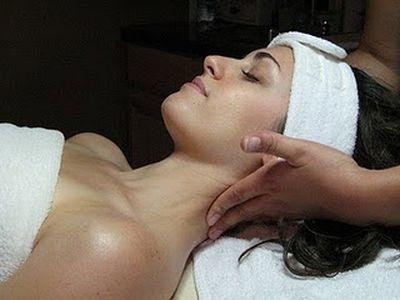 A massagem estética produz uma boa sensação de relaxamento