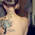 Tatuagens femininas delicadas modelos 3
