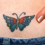 Tatuagem de borboleta (Foto:Divulgação)