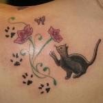 Tatuagem de flores (Foto:Divulgação)