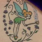 Tatuagem de sininho (Foto:Divulgação)