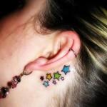 Tatuagens de estrelas (Foto:Divulgação)