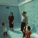Piscina com fundo transparente e ilusório  (Foto:Divulgação)
