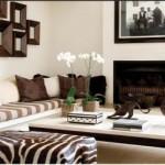 Sofá de alvenaria para sala de estar