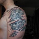Tatuagem masculina no braço (Foto:Divulgação)