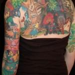 Tatuagem colorida (Foto:Divulgação)
