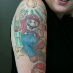 Tatuagem do Mario Bross (Foto:Divulgação)