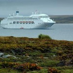 A região é ponto de parada cada vez mais comum dos cruzeiros com destino ao Polo Sul