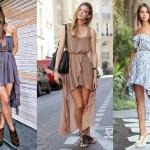 Modelos de vestidos mullet