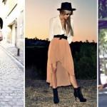 Modelos de saia Mullet