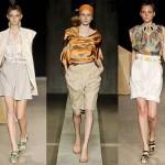 Bermudas apareceram em destaque nas passarelas de diversas semanas da moda