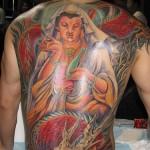 Tatuagem chinesa nas costas (Foto:Divulgação)