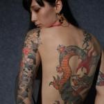 Tatuagem de dragão (Foto:Divulgação)
