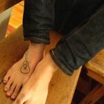 Tatuagem de violão (Foto:Divulgação)