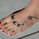 Tatuagem de pássaros (Foto:Divulgação)