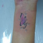 Tatuagem com borboleto (Foto:Divulgação)