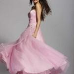 Vestido todo rosa