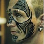 Tatuagem na Face (Foto:Divulgação)