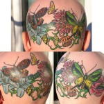 Tatuagens na cabeça (Foto:Divulgação)