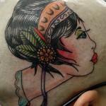 Tatuagem de figura feminina (Foto:Divulgação)