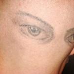 Tatuagem de olhos  (Foto:Divulgação)