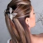 Um look mais delicado, podendo ser usado por noivas
