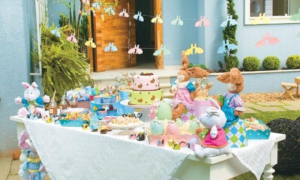 Bolos, doces e coelhos deixam a ceia muito mais divertida (Foto Divulgação: MdeMulher)