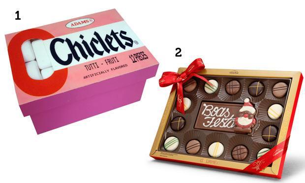 Chicletes e chocolates para aquele seu amigo que não para de mastigar (Foto: Mdemulher)