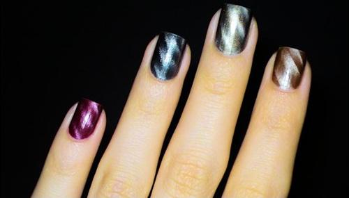 Esmaltes magnetic polish (foto ilustrativa)