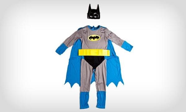 Fantasia para menino do Batman (Foto: MdeMulher)