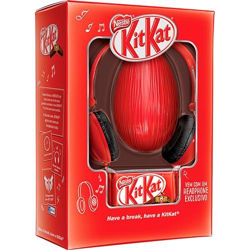Ovo de chocolate Kit Kat Nestlé com  headphone (Foto Divulgação: Americanas)