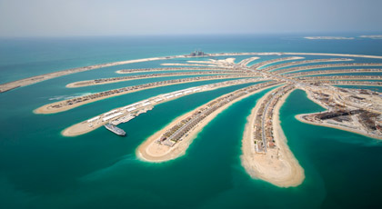 Dubai cidade futurística que atrai milhares de turistas todos os anos. (Foto: CVC)