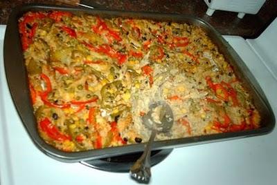 Arroz de forno com bacalhau, uma receita especial para fazer em familia