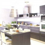 Cozinha visualmente bonita e organizada