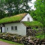 A moradia possui um visual charmoso e visualmente ecológico