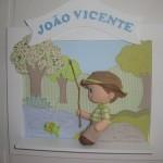 Enfeite do garotinho pescando (Foto:Divulgação)