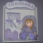Enfeite com o quarto do bebê (Foto:Divulgação)